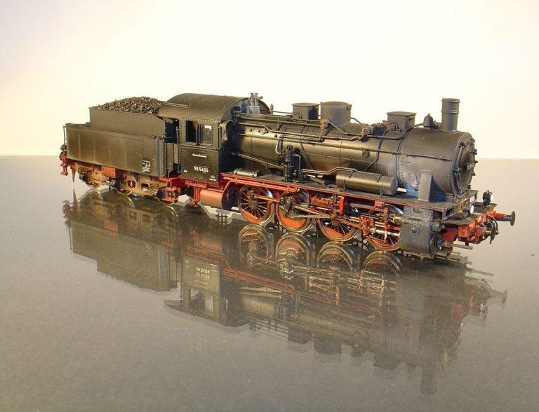 BR 55.25 (Fleischmann) verfeinert und gealtert von Bahn Atelier Opladen